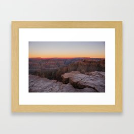 Gran Canyon Framed Art Print