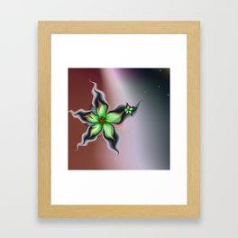 Fleur de la Récolte Framed Art Print