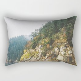 Ferry to Victoria, BC Rectangular Pillow