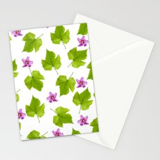 Dance of the tropical flowers Stationery Cards