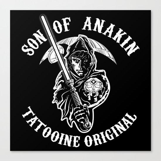 Son of Anakin Canvas Print