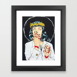 Mother Mia (Mia Wallace) Framed Art Print