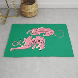 The Chase: Pink Tiger Edition Rug