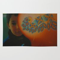 child Area & Throw Rugs featuring Child by Nicholas Bremner - Autotelic Art