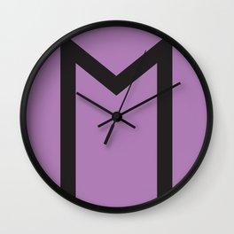 Showtasting - Rune 12 Wall Clock