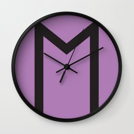 Showtasting - Rune 12 Wall Clock