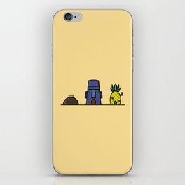 Spongebob's House iPhone Skin
