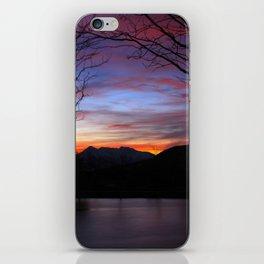 Sunrise on the Lake iPhone Skin