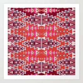 Indian Designs 260 Art Print