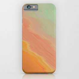 melted sunrise iPhone Case