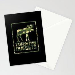 Camo Moose Stationery Cards