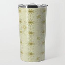 Art nouveau leafs Travel Mug