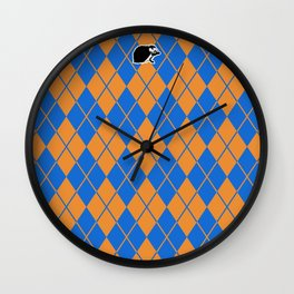 Shinbone's Blue Dress 2 Wall Clock