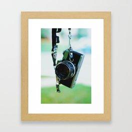 Throwback Framed Art Print