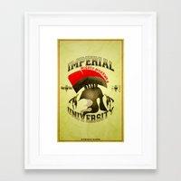 skyrim Framed Art Prints featuring Imperial University(Skyrim) by Chubbybuddhist