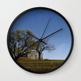Outside Clyde Wall Clock