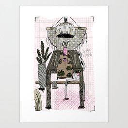 a simple safe space Art Print
