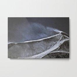 summit Wind Metal Print