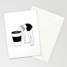 Coffee, First Stationery Cards