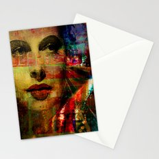 I wait for you below in the street Stationery Cards