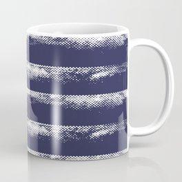 Irregular Stripes Dark Blue Coffee Mug