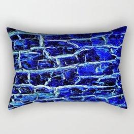 Sapphire Bark Rectangular Pillow