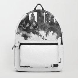 Linz Austria Skyline BW Backpack