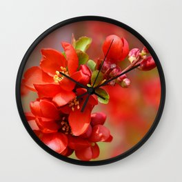 Red 95 Wall Clock