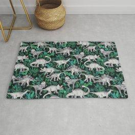 Dinosaur Jungle Rug
