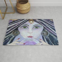 THE AMAZING - Gypsy Witch, Fortune Teller Rug