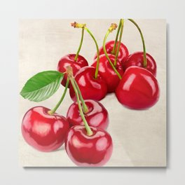 Remo Barbieri - Cherries Metal Print