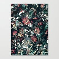 garden Canvas Prints featuring Space Garden by RIZA PEKER