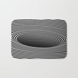 Black Hole Vertigo Bath Mat