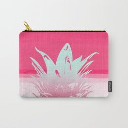 Pink Pineapple Tropical Beach Design Carry-All Pouch