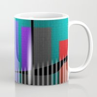 band Mugs featuring Jazz Band by Kristine Rae Hanning
