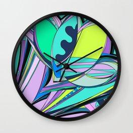 Libertad de Color Part 4 Wall Clock