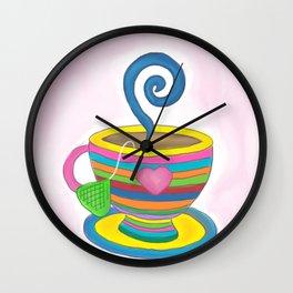 Cuppa Wall Clock