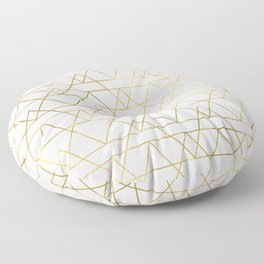 Modern Gold Floor Pillow