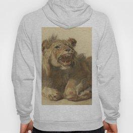 Cornelis Saftleven - A Lion Snarling Hoody