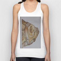 watercolour Tank Tops featuring watercolour by cabbagepatch