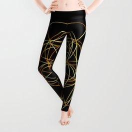 Fibonacci Spiral- The sacred geometry Leggings