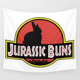 JURASSIC BUNS Wall Tapestry