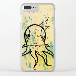 Friendly Octopi Clear iPhone Case
