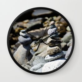 Balance Stones Wall Clock