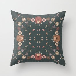 CONNECTED FLORAL Throw Pillow