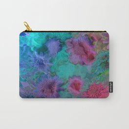 Flowers abstract #2 Carry-All Pouch