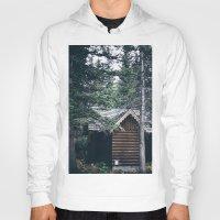 cabin Hoodies featuring Cabin by Garrett Lockhart