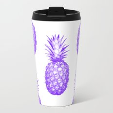 Purple Pineapple Travel Mug