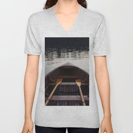 No where to row Unisex V-Neck