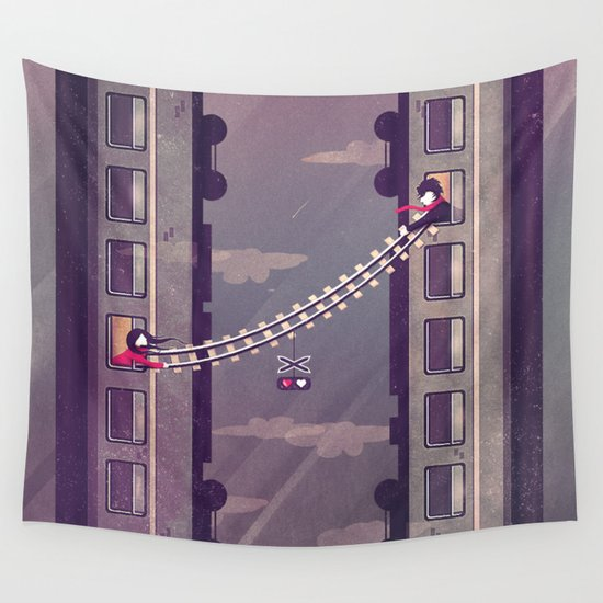 I won't leave without U Wall Tapestry